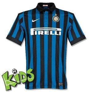 2011-12 Inter Milan Home Nike Football Shirt (Kids) 3f6749132eda