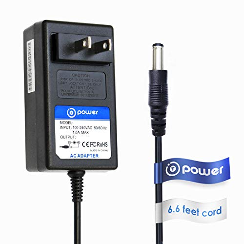 T-Power 12v 2a 6.6ft AC Adapter Compatible with WD Western D