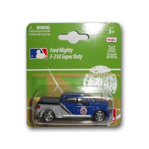 Die Cast Collectible Mlb Baseball - MLB New York Mets Ford F350 1:64 style Diecast