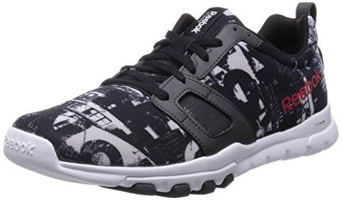 Hommes Noirs Reebok Fitness De Chaussures Zfx4cp6qcw