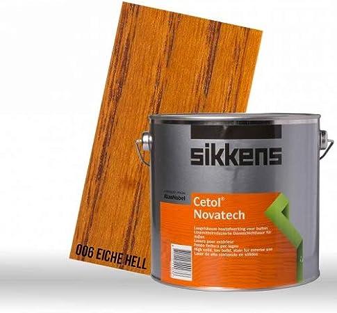 Sikkens Cetol Novatech roble claro 2,5L: Amazon.es: Bricolaje ...