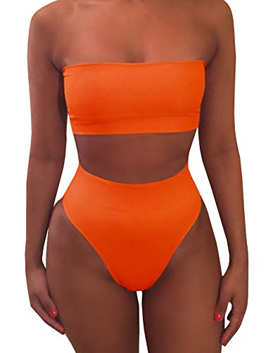 Ybenlow Womens Bandeau Swimsuit Bottom