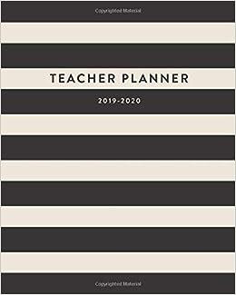 Teacher Planner 2019-2020 (2019 2020 12-Month Teacher ...