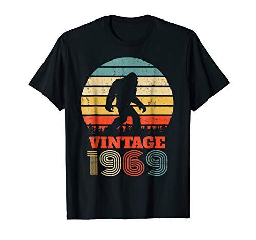 50 Years Old 1969 Vintage 50th Birthday Bigfoot T ()