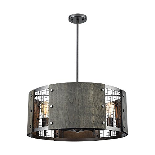 Dark Gray Pendant Light