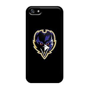 Iphone 5/5s TTV6047RDjE Allow Personal Design Stylish Baltimore Ravens Image Durable Hard Cell-phone Cases -JamieBratt