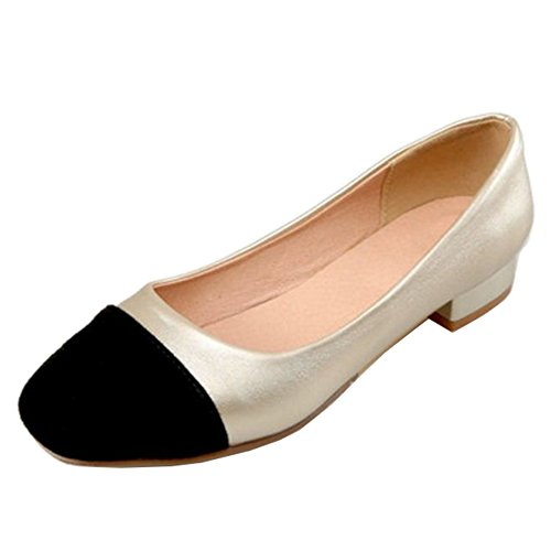 Material Cu Mujer Onewus De Sandalias Con A Dorado Sinttico qAWxzBRw