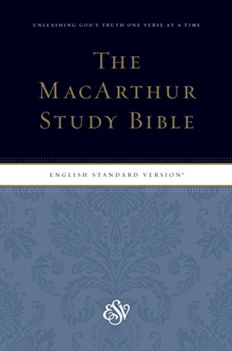 (The MacArthur Study Bible: English Standard Version, Personal Size)