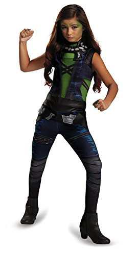 Disguise Marvel Guardians of The Galaxy Gamora Classic Girl's Costume, Small/4-6x