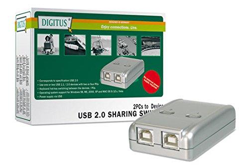 10 opinioni per Digitus DA70135 Data Switch Elettronici per 2 PC con 1 Periferica USB 2.0