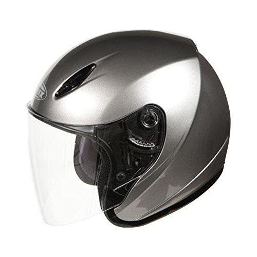 Gmax Gm17 Spc Open Face Helmet Titanium Xl/X-Large