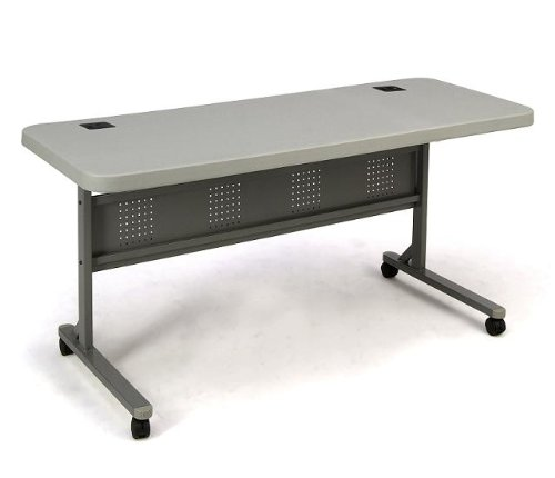 Mobile Flip Top Seminar Table, 24