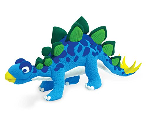 Clay Dinosaur Stegosaurus
