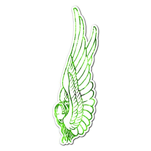 - Angel with Large Bird Wings - Vinyl Decal Sticker - 3