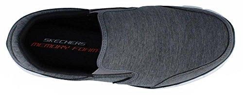 SkechersEqualizer Double Play - Zapatillas De Deporte Para Exterior hombre gris oscuro