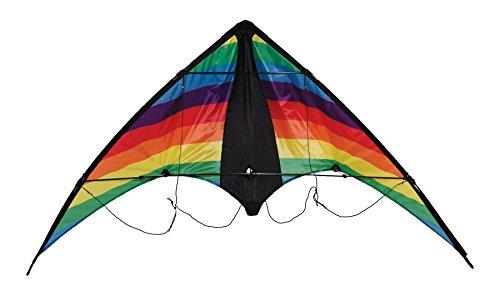 In the Breeze Rainbow Stripe Dual Control Sport Kite