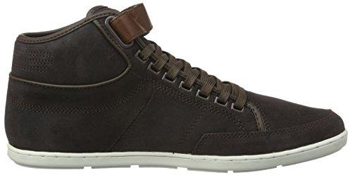 Boxfresh - Swich Blok Uh WXD Sde/Lea, Sneaker Alte Uomo Marrone (Braun (Dk Brown/Veg Brown))
