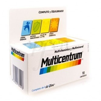 MULTICENTRUM 90 Comprimidos by Pfizer