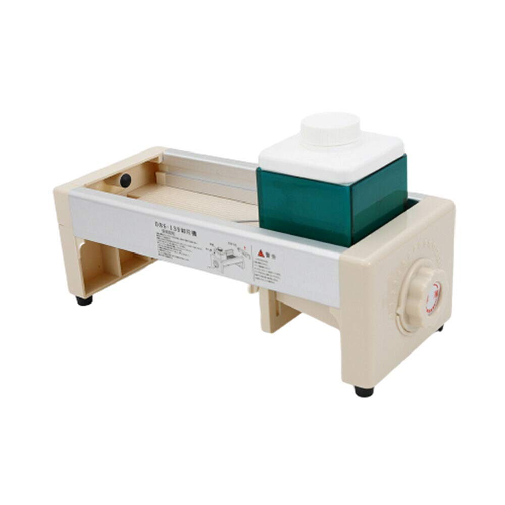 Chanok Commercial Slicer Machine Fruit And Vegetable/Slicing Machine Adjustable Thickness/Onions Slicing/Cutting Salad/Blade Can Be disassembled/Hand-Held/Home, Kitchen, Fruit Shop, Restaurant by Chanok