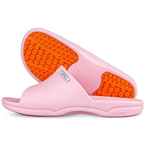 pink chef shoes - 9