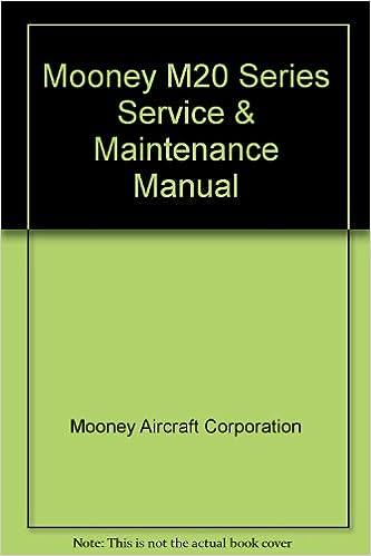 Mooney M20 Series Service Maintenance Manual