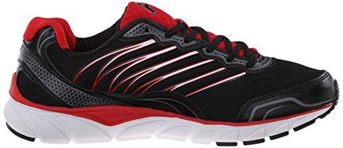 Fila Cuenta atrás las zapatillas de running Black/Fila Red/Dark Silver