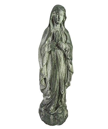 Essential Décor Entrada Collection óxido de Magnesio Virgen Estatua de jardín, 17,25 por 4,75 por 12 cm: Amazon.es: Hogar