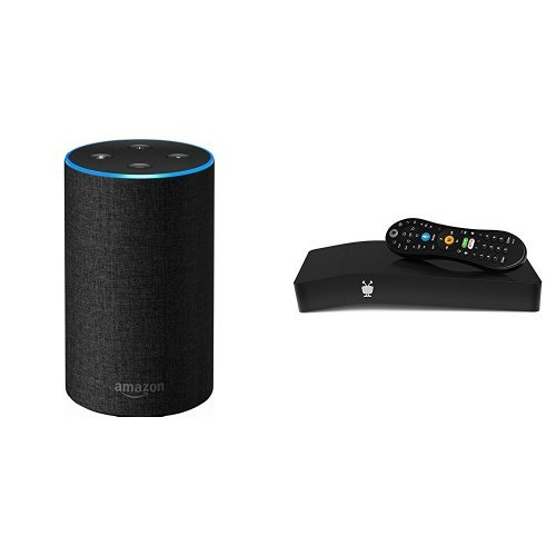 Echo (2nd Generation) - Charcoal Fabric + TiVo BOLT VOX 500 GB DVR