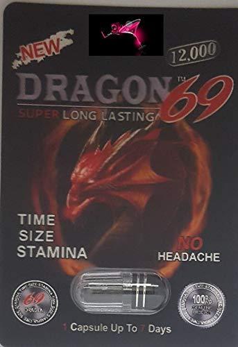 Black Dragon Extreme 69 12000 - (10+10 BIG HORN )Pills Male Enhancement  Pill PLUS