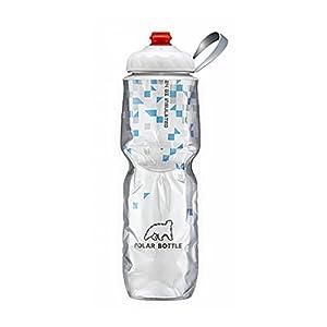 Polar Bottle Zip Stream 24oz Insulated Water Bottle (Breakaway Blue)