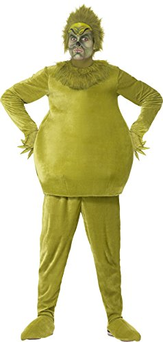 Smiffys Adult's The Grinch (A Grinch Costume)