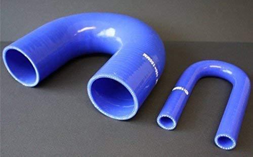 Silikonbogen 180° Id 16-76 mm Turbo Hose Radiator Hose Llk Intercooler - Innendurchmesser: 38mm: DIY & Tools