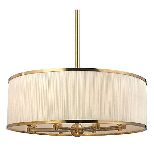 Hastings Transitional Chandelier (Aged Brass Hastings 8 Light Single Tier Chandelier)