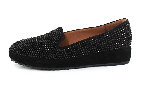 L`Amour Des Pieds Womens Correze Slip-on Black Suede/Multi free shipping marketable buy cheap store UcnZQJqkmD