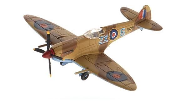 Amazon com: Spitfire MK VIII/IX & SBD Dauntless 1:144 scale