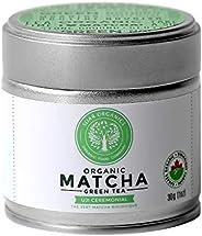 Soar Organics - Organic Japanese Matcha Green Tea Powder - Ceremonial Grade - 30g