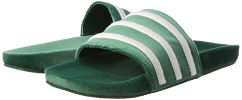 Et Green Blanc Chaussures Adidas De Piscine Homme Vert Blanc Pour Adilette Plage collegiate qfqAwIU