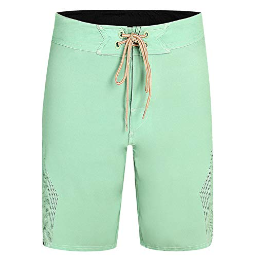 (Beach Board Shorts Men Surfing Swim Shorts Breathable Summer Sport Short,Army Green,34)
