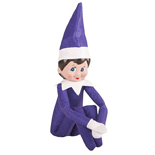 Miraise Christmas Elf On Shelf Toy Plush Dolls Boy And