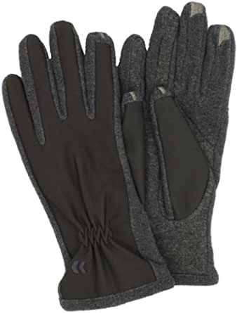 Isotoner Women's Smartouch Tech Stretch Glove, Charcoal, Medium/Large