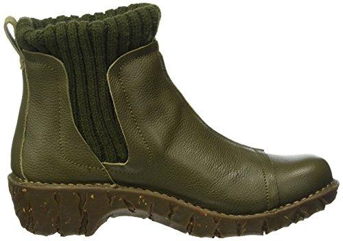 Grain Green N22 Ne23 Naturalista Ankle Kaki Soft Kaki Boots Women's El Yggdrasil wzPTqIq1