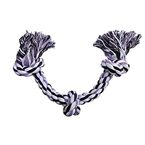Blue's Choice Dog Rope Toy, Large and Durable for Dogs and Puppies, Suitable for Aggressive Chewers, Purple Click on image for further info.