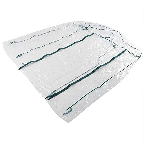 Asixx Invernadero, Plástico Invernadero, Invernadero Caseta, Invernadero de Jardín, Sin Estantes, de Material de PVC, para...