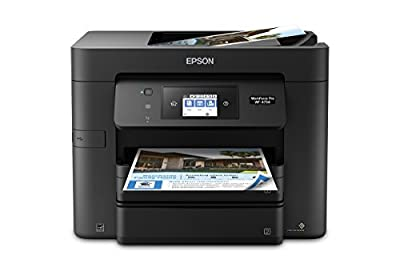 WorkForce Pro WF-4734 All-in-One Printer:4-in-1 with Wi-Fi: Print/Copy/Scan/Fax