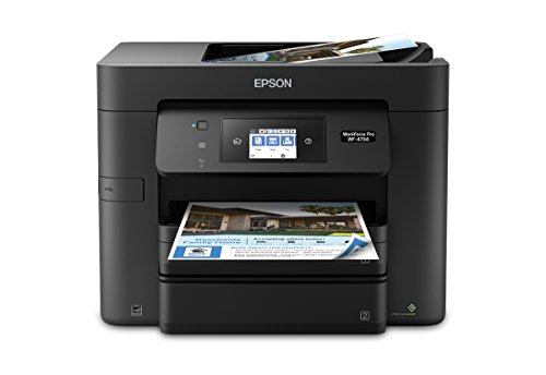 WorkForce Pro WF- All-in-One Printer:4-in-1 with Wi-Fi: Print/Copy/Scan/Fax - Epson 4734