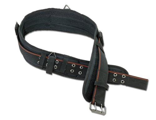 Belt Ironworkers (Arsenal 5550 Foam Padded Adjustable Tool/ Work Belt, Large, Black)