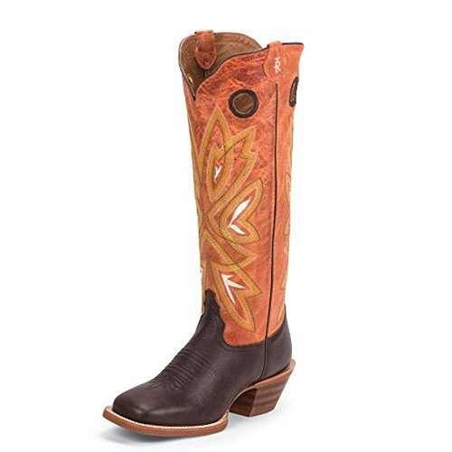 - Tony Lama Women's Magnolia Orange 16