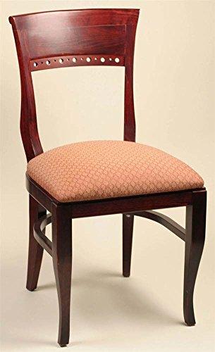 Biedermeier Dining Chair in Solid Beech Wood w Upholstered Seat (Alston Biedermeier Chair)