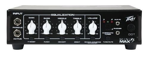 Lightweight Bass Amp - Peavey MINIMAX500 MiniMAX 500W Lightweight Bass Head Amplifier
