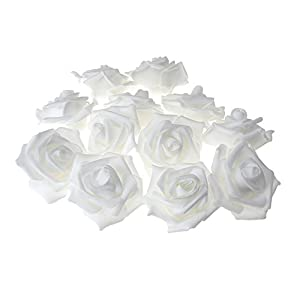 Homeford Foam Roses Flower Head Embellishment, 3-Inch, 12-Count 4